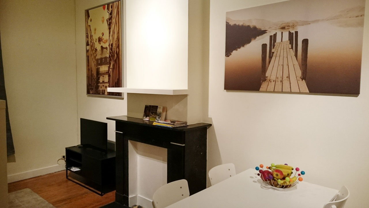 location appartement meubl li ge guillemins appartement louer. Black Bedroom Furniture Sets. Home Design Ideas